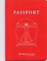 PASSPORT -LIMA CORPORATE-FROM ITALY TO THE WORLD-7 SCAN. - Documenti Storici