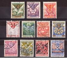 Pays-Bas - 1925/27 - N° 162 à 164 + 186 à 189 + 195 à 198 - Armoiries De Provinces - Period 1891-1948 (Wilhelmina)