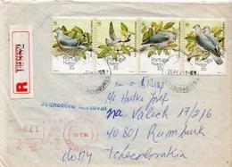 Postal History Cover: Portugal / Madeira R Cover With Birds Set - Birds