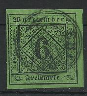 Württemberg 3 Y Gest. K3 Ebingen, Gepr. Heinrich - Kabinett! - Wurttemberg