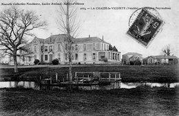 La Chaize Le Vicomte : L'hospice Payraudeau - La Chaize Le Vicomte