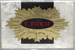 Ancien Paquet Vide Jubilé 3 - Contenitore Di Sigari