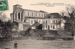 La Chaize Le Vicomte : L'église St Nicolas - La Chaize Le Vicomte