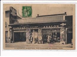 NICE : H. Lecomte Proprietaire 303 Promenade Des Anglais, Garage Avalon - Etat - Nice