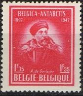 """PIA - BEL -  1947 -  50° Anniversario Della Spedizione Antartica """"Belgica"""" -  (Yv  749-50) - Nuovi"""