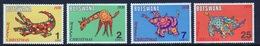 Botswana Set Of Stamps From 1970 To Celebrate Christmas. - Botswana (1966-...)