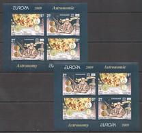 QQ044 2009 ROMANIA SPACE ASTRONOMIE GALILEI !!! MICHEL 27 EURO !!! 2KB MNH - Astrologie