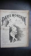 Paris Mondain N°4 - 16 Décembre 1880 - Journaux - Quotidiens