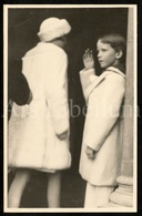 Postcard / ROYALTY / Belgium / België / Prince Baudouin / Princesse Joséphine Charlotte / Collège Saint-Michel / 1938 - Enseignement, Ecoles Et Universités