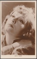 Actress Greta Garbo, C.1930s - RP Postcard - Entertainers