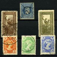 3489- Grecia Nº 123, 157, 160/2, 159 - 1896 Primeros Juegos Olímpicos