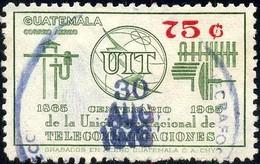 Centenary Of The ITU, Guatemala Stamp SC#C429 Used - Guatemala
