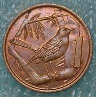 Cayman Islands 1 Cent, 1987 ↓price↓ - Cayman Islands