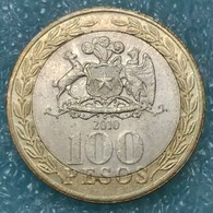 Chile 100 Pesos, 2010 ↓price↓ - Chili