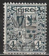 Irlanda 1941 - Coats Of Arms - Animali Araldici | Stemmi Araldici | Strumenti Musicali - 1937-1949 Éire