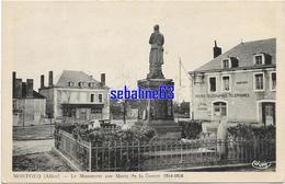 Montvicq - Le Monument Aux Morts De La Guerre 1914-1918 - Otros Municipios