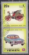 Yemen, 1970 - 20b Mercedes-Benz - Usato° - Yemen