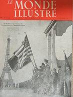 """Le Monde Illustré (27 Sept 1947) La """"Superaviation"""" - De Fontainebleau à Bastogne - Pays Thö - Cannes - Livres, BD, Revues"""
