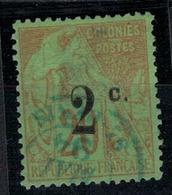 REUNION         N°  YVERT    :    45b   ( 1 )  OBLITERE       ( O   3/41 ) - Gebraucht