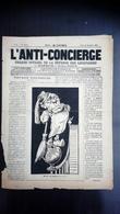 L'Anti-Concierge N°2 - Jeudi 15 Décembre 1881 - Journaux - Quotidiens