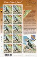 Guernsey MNH Europa CEPT Sheetlet Pair - 1999