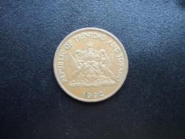 TRINITÉ ET TOBAGO : 5 CENTS   1992      KM 30     SUP - Trinité & Tobago