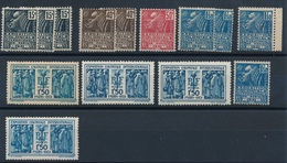 """CD-211 :FRANCE: Lot """"EXPO Coloniale"""" Avec N°270**(3)-271**(2)-272**-273**(3)-274**GNO(4)-273**GNO - France"""