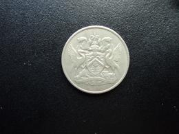 TRINITÉ ET TOBAGO : 25 CENTS   1967      KM 4       SUP - Trinité & Tobago