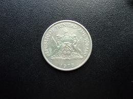 TRINITÉ ET TOBAGO : 25 CENTS   1978 FM      KM 32       SUP - Trinité & Tobago