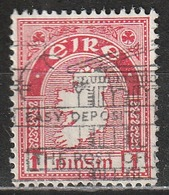Irlanda 1940 - Map - 1937-1949 Éire