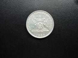 TRINITÉ ET TOBAGO : 25 CENTS   1984      KM 32       SUP+ - Trinité & Tobago