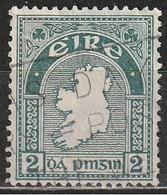 Irlanda 1922 - Map - 1922-37 Stato Libero D'Irlanda