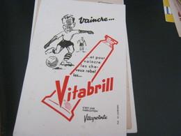 BUVARD PUBBLICITARIA VITABRILL - Andere