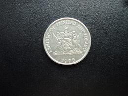 TRINITÉ ET TOBAGO : 25 CENTS   1998      KM 32       SUP+ - Trinité & Tobago