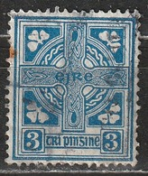 Irlanda 1923 Celtic Cross - 1922-37 Stato Libero D'Irlanda