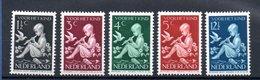 Pays Bas / Série N 312 à 316 / NEUFS Avec Trace De Charnière  / Côte 13.5 € - Period 1891-1948 (Wilhelmina)