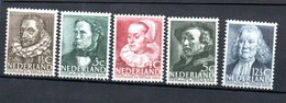 Pays Bas / Série N 304 à 308 / NEUFS Avec Trace De Charnière  / Côte 18.5 € - Period 1891-1948 (Wilhelmina)