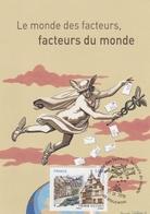 """OBLIT. """"FACTEURS Du MONDE"""" - RIQUEWIHR 9/2010 - (Mercure / Caducée ...) - Matasellos Conmemorativos"""