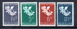 Pays Bas / Série N 288 à 291 / NEUFS Avec Trace De Charnière / Côte 27 € - Period 1891-1948 (Wilhelmina)