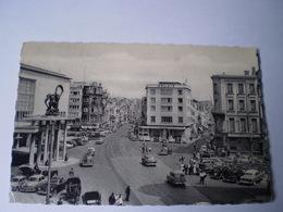 Oostende - Ostende // Langestraat En Van Iseghemlaan (Voor De Auto Liefhebber) 1960 - Oostende