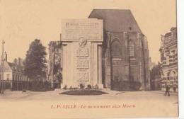 D59 - Lille - Le Monument Aux Morts  : Achat Immédiat - Lille