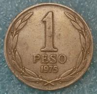 Chile 1 Peso, 1975 ↓price↓ - Chili