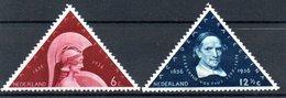 Pays Bas / Série N 286 Et 287 / NEUFS Avec Charnière - Period 1891-1948 (Wilhelmina)