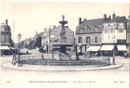 ***14****  DEAUVILLE  Plage Fleurie La Place De Morny TTBE écrite - Deauville