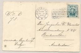Nederland - 1924 - 2 Cent Kind Op Ansicht Lokaal Amsterdam - 1891-1948 (Wilhelmine)
