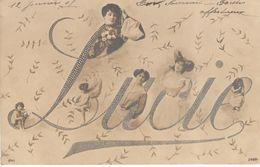 Cartes Postales - Thèmes - Prénoms - Lucie - Firstnames