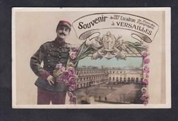 Versailles - Souvenir Du 20 20è Escadron Du Train Des Equipages ( Georges Pierre à Claire Duchange Cousances Les Forges - Versailles