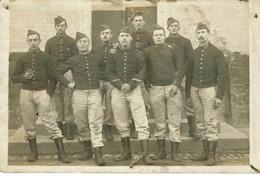 Carte-photo Du 110e R.I. - 12e Cie à GRAVELINES (Nord) - 1914-18