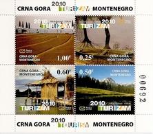 MONTENEGRO, 2010, BOOKLET 10, Tourism 2010, MH7 - Montenegro