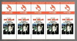 België/Belgique 2006 Duostamp Bob Morane Les Secrets De L'ombre Jaune (Henri Vernes Frank Leclercq) [Éditions Ananké] - Blokken 1962-....